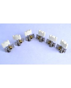 Open Guitar Machine Heads (Set of 6 string tuners)