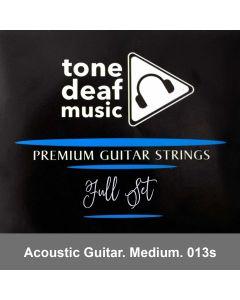 Acoustic Guitar Strings  (Medium Gauge)