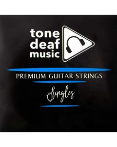 --FBA-- Single acoustic / electric guitar strings x 5 - 014 B