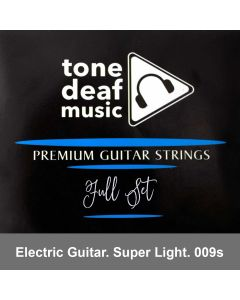 Electric Guitar Strings  (Super Light Gauge)
